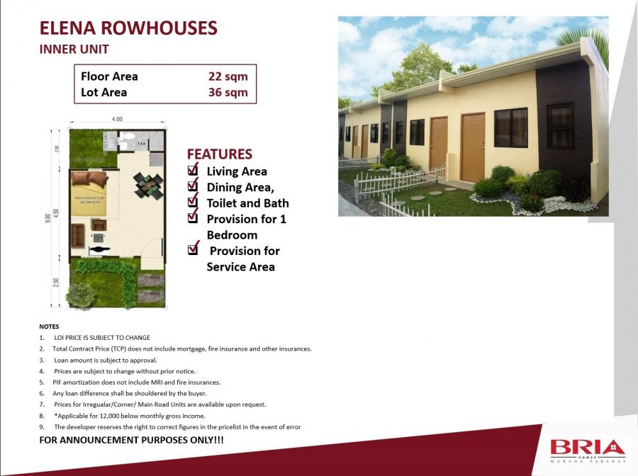 Bria Homes Digos Property Providers Philippines