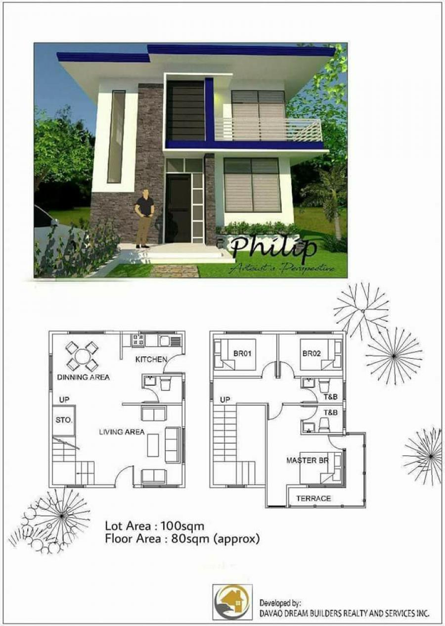 Dream heights residences for Best house design for 100 square meter lot